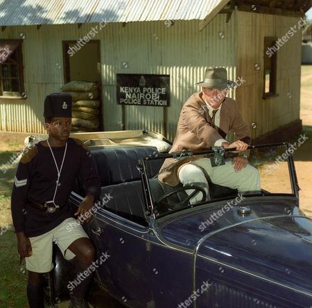 Freddie Annobil-Dodoo and Trevor Eve