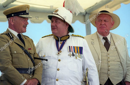 Michael Byrne, Paul Brooke and Joss Ackland