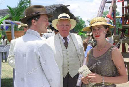 Jonathan Firth, Joss Ackland and Sonya Walger