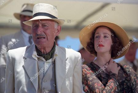 Geoffrey Bayldon and Flora Montgomery