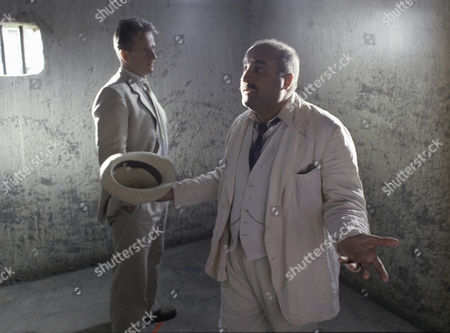 Trevor Eve and Joseph Long