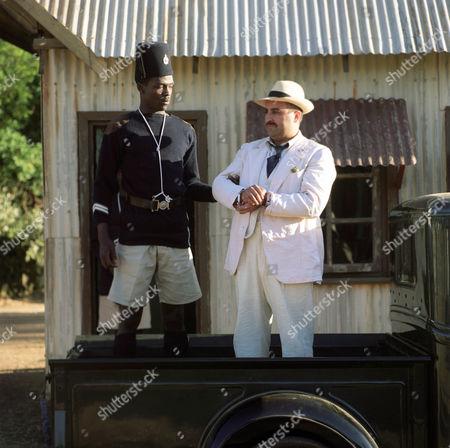 Stock Image of Freddie Annobil-Dodoo and Joseph Long