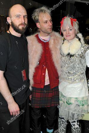 Benjamin Kirchhoff, Edward Meadham and Louise Gray