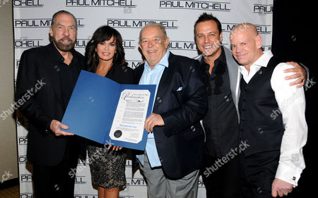 John Paul DeJoria, Marie Osmond, Robin Leach, Angus Mitchell and Winn Claybough