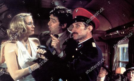 Stock Picture of The Lady Vanishes,  Cybill Shepherd,  Elliott Gould,  Vladek Sheybal