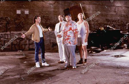 The Dream Team,  Michael Keaton,  Christopher Lloyd,  Stephen Furst,  Peter Boyle