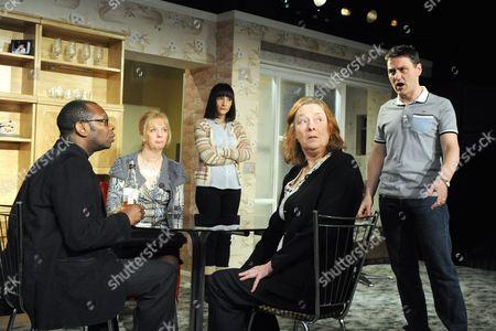 Christian Dixon as Rev David Williams, Ruth Sheen as Maureen, Jade Williams as Shelley, Linda Bassett as Doreen, Lee Ross as Barry