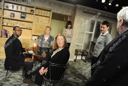 Christian Dixon as Rev David Williams, Ruth Sheen as Maureen, Jade Williams as Shelley, Linda Bassett as Doreen, Lee Ross as Barry Peter Wight as Ken