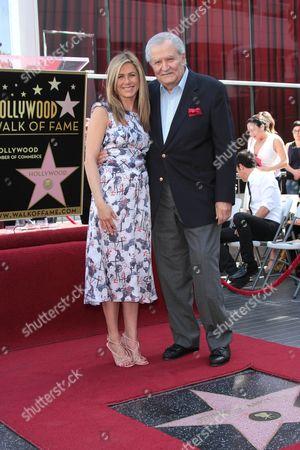 Jennifer Aniston and John Aniston