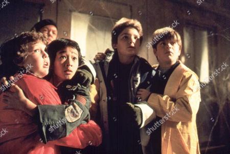The Goonies,  Jeff Cohen,  Ke Huy Quan,  Corey Feldman,  Sean Astin