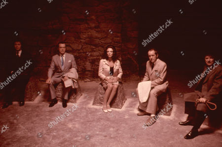 'Tales From The Crypt' - Richard Greene,  Joan Collins, Ian Hendry and Nigel Patrick