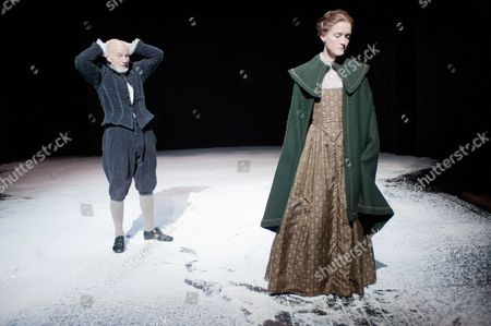Editorial image of 'Bingo' play performed at The Young Vic, London, Britain - 22 Feb 2012
