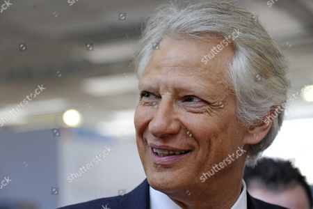 Dominique de Villepin, the Republique Solidaire party candidate for the 2012 French presidential election