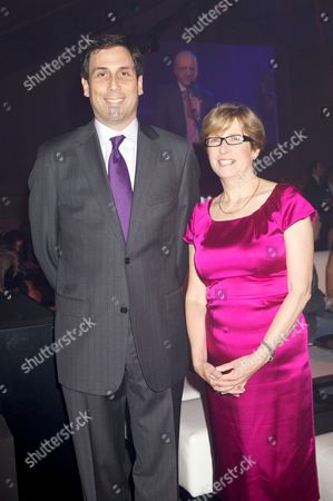 Adam Helfant (ATP Excutive Chairman and President) and Dr Jane Collins (GOSG CEO)