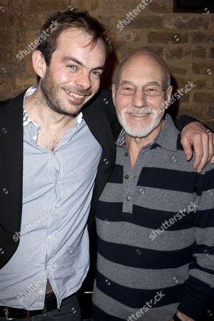 Angus Jackson (Director) and Sir Patrick Stewart (William Shakespeare)