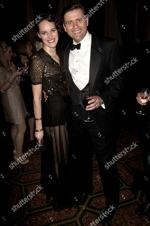 Phoebe Waller-Bridge (Sorel Bliss) and Sam Callis (Sandy Tyrell)