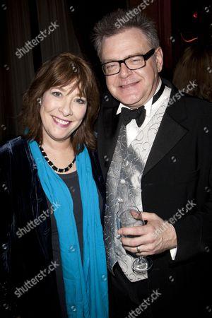 Phyllis Logan and Kevin R McNally (David Bliss)