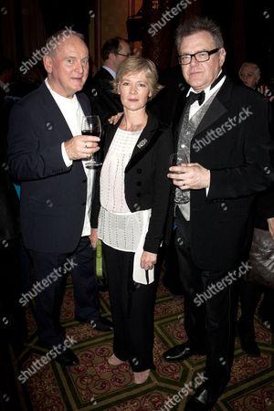 Howard Davies (Director), Clare Holman and Kevin R McNally (David Bliss)