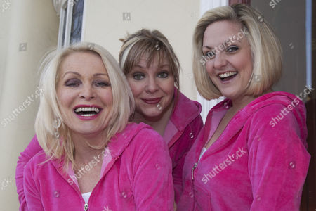 Editorial photo of 'Hormonal Housewives' play photocall at the New Wimbledon Theatre, London, Britain - 20 Feb 2012