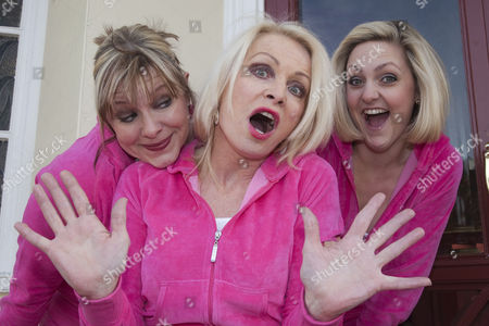 Stock Picture of Julie Coombe, Margi Clarke and Laura Checkley
