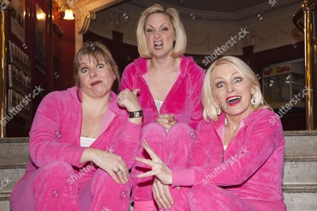 Editorial image of 'Hormonal Housewives' play photocall at the New Wimbledon Theatre, London, Britain - 20 Feb 2012