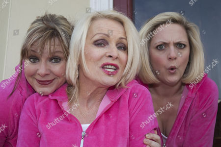 Julie Coombe, Margi Clarke and Laura Checkley