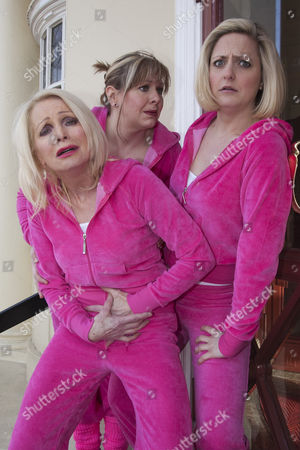 Margi Clarke, Julie Coombe and Laura Checkley