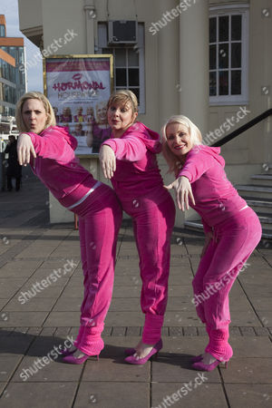Stock Image of Laura Checkley, Julie Coombe and Margi Clarke