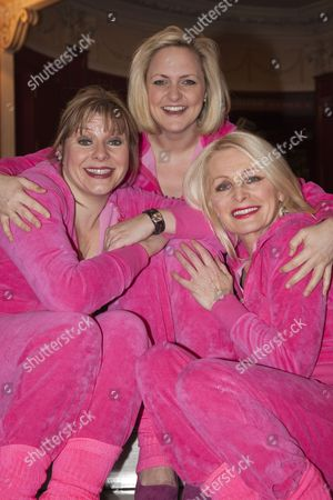 Julie Coombe, Laura Checkley and Margi Clarke
