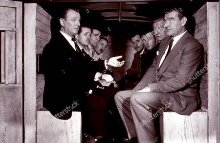The League Of Gentlemen,  Jack Hawkins,  Richard Attenborough,  Bryan Forbes,  Terence Alexander,  Roger Livesay,  Nigel Patrick