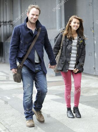 Stock Image of Will Thorp and Samia Smith