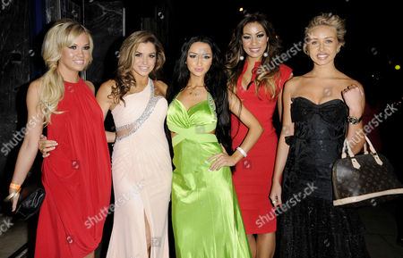 Sarah Beverley Jones, Louise Glover, Tashie Jackson, Layla Flaherty and guest
