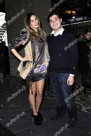 Melissa Satta and Robin Cavalli