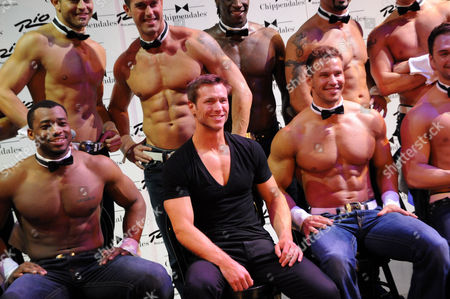 Jake Pavelka and Chippendales