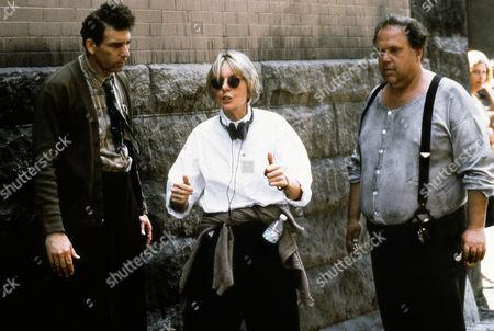 "Stock Photo of Diane Keaton (PORTRAIT) ""UNSTRUNG HEROES"" (1995)  ON SET WITH Michael Richards, Maury Chaykin  KEAT 003"