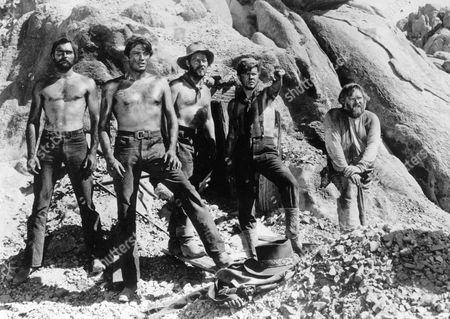 Yellow Sky,  John Russell,  Gregory Peck,  Henry Morgan,  Robert Arthur,  Charles Kemper
