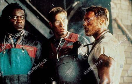 The Running Man,  Yaphet Kotto,  Marvin J Mcintyre,  Arnold Schwarzenegger