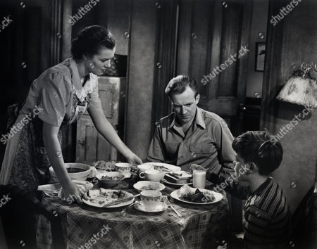 The Window,  Barbara Hale,  Arthur Kennedy,  Bobby Driscoll