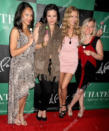 Cynthia Addai-Robinson, Katrina Law, Ellen Hollman and Bonnie Sveen
