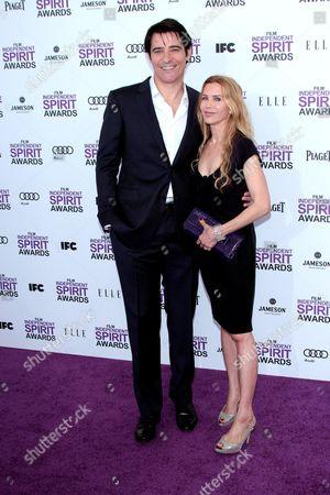 Goran Visnjic and wife Ivana Vrdoljak