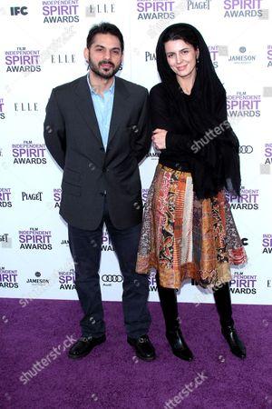 Peyman Moadi and Leila Hatami