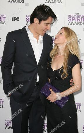 Stock Image of Goran Visnjic and wife Ivana Vrdoljak