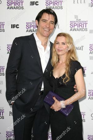 Stock Photo of Goran Visnjic and wife Ivana Vrdoljak