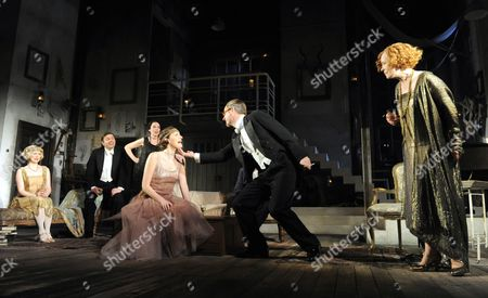 Editorial picture of 'Hay Fever' play at The Noel Coward Theatre, London, Britain - 24 Feb 2012