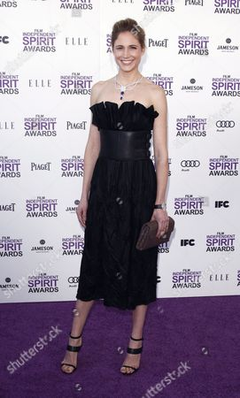 Editorial picture of 2012 Film Independent Spirit Awards, Los Angeles, America - 25 Feb 2012