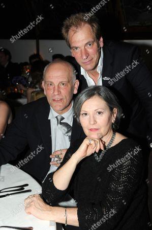Stock Picture of John Malkovich, Julian Sands and Nicoletta Peyran