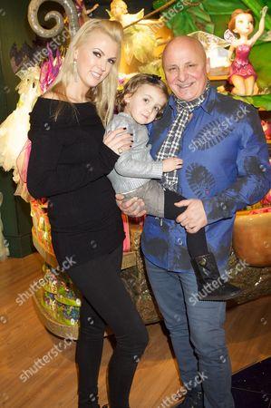 Nikki Welch, Twiggy Zilli and Aldo Zilli