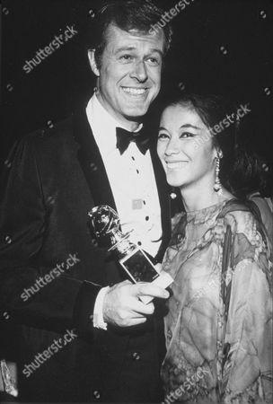 ROBERT CULP AND WIFE FRANCE NUYEN