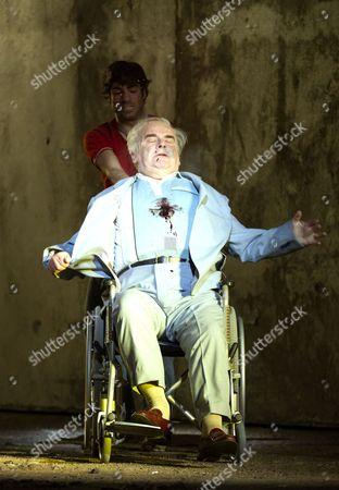 'The Death of Klinghoffer' - Jesse Kovarsky as Omar, Alan Opie as Leon Klinghoffer