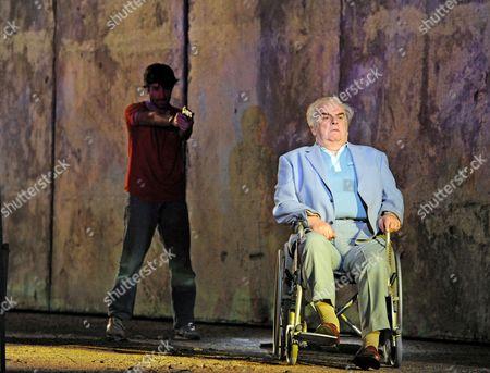 'The Death of Klinghoffer' - Jesse Kovarsky as Omar and Alan Opie as Leon Klinghoffer